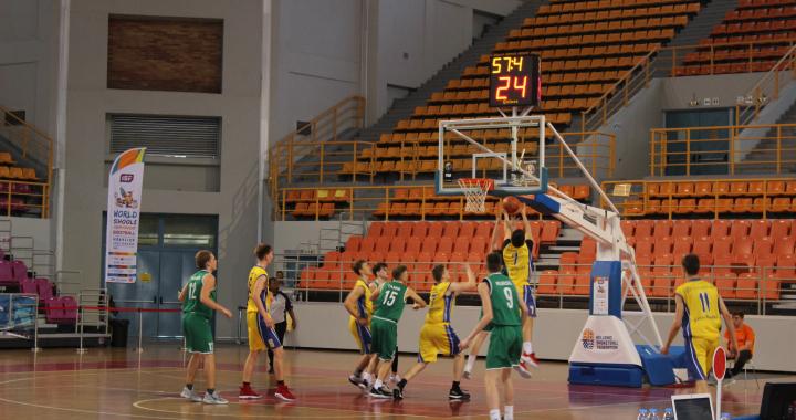 ISF WSC Basketball: Bojujeme jako lvi!