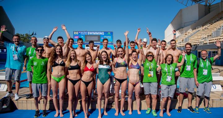 Ústečtí plavci zářili v Brazílii
